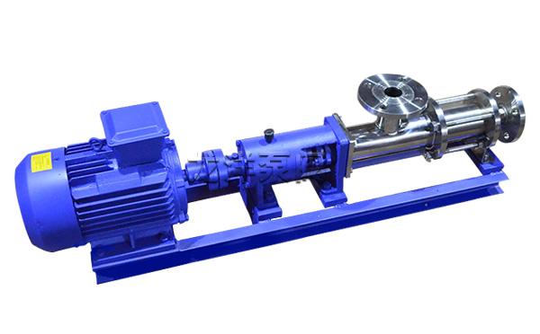 GF型食品卫生级单螺杆泵