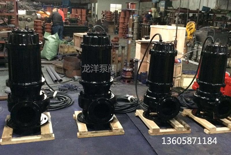 WQ潜水排污泵厂家车间图