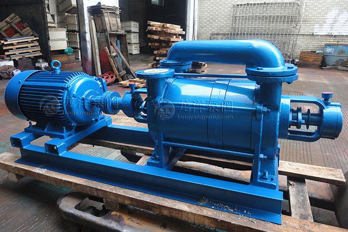 2SK水环式直空泵外形结构图
