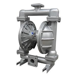 QBY鋁合金氣動隔(ge)膜(mo)泵(beng)